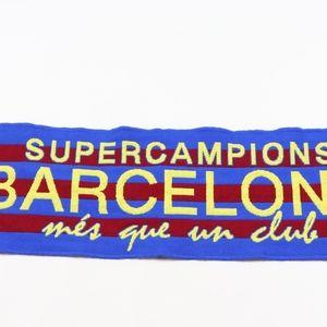 Barcelona FC Supercampions Soccer Football Scarf